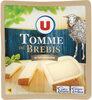 Tomme de brebis au lait pasteurisé 34%mg - Produit