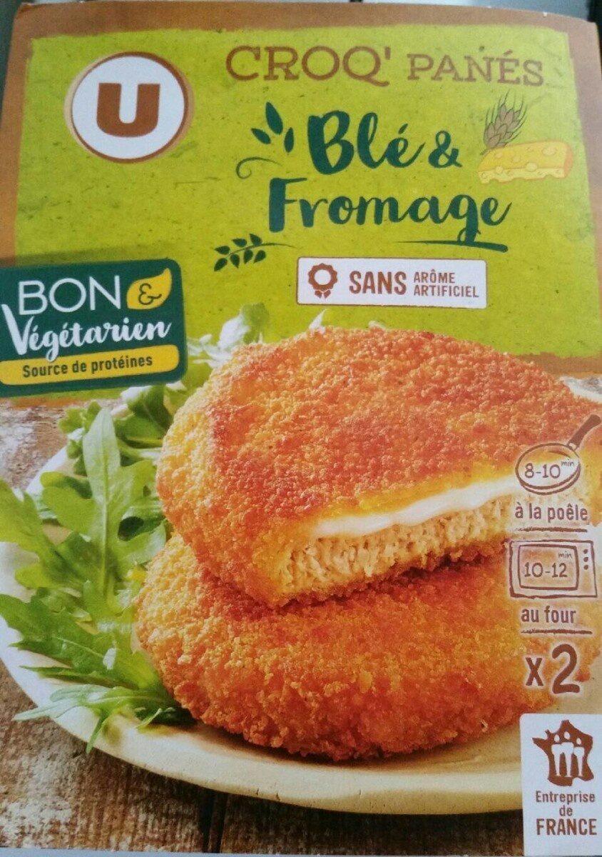 Croq'panés blé et fromage - Produit - fr