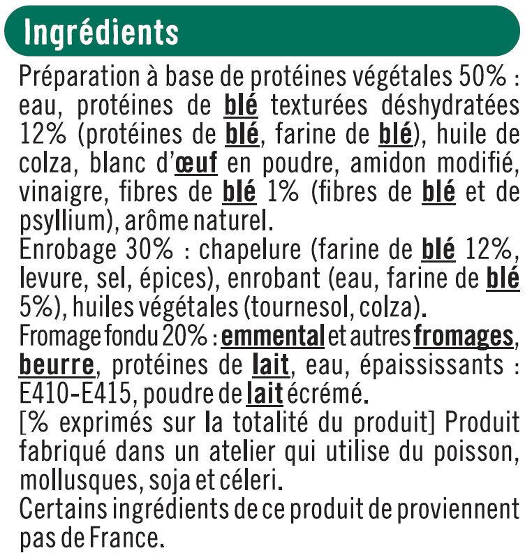 Croq'panés blé et fromage - Ingrédients - fr