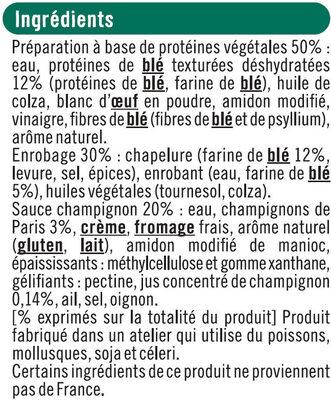 Croq'panés blé et saveur champignon - Ingrédients - fr