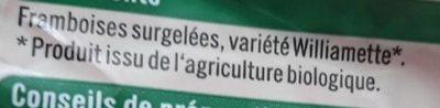 Framboises entières - Ingredienti - fr