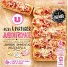 Pizza à partager jambon fromage - Produit