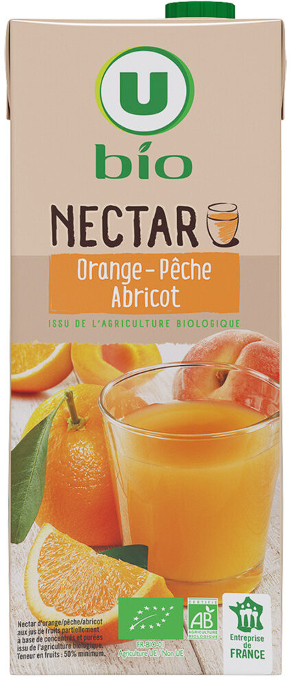 Nectar orange-pêche abricot - Prodotto - fr