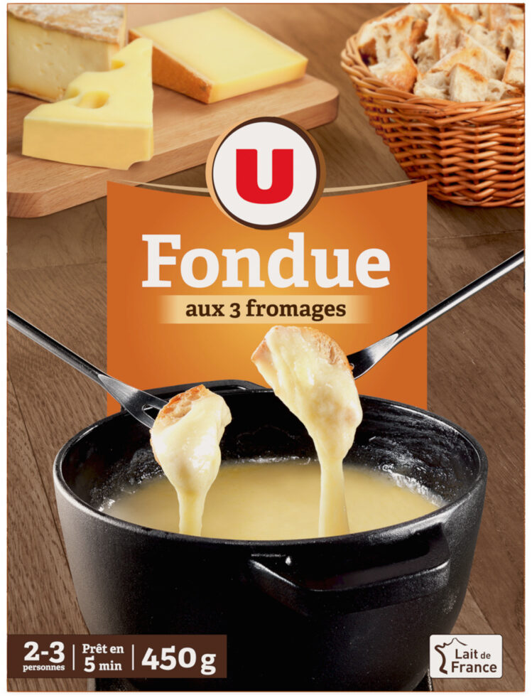 Fondue aux 3 fromages - Product
