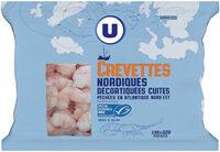Crevettes nordiques cuites décortiquées - Product - fr