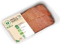 Pavé de saumon atlantique avec peau, salmo salar - Produit - fr