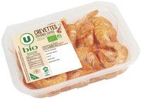 Crevettes cuites, penaeus vannamei, calibre 40/60 - Product - fr