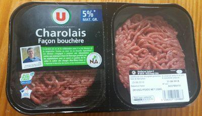 Steak haché, 5% MAT.GR - Produit