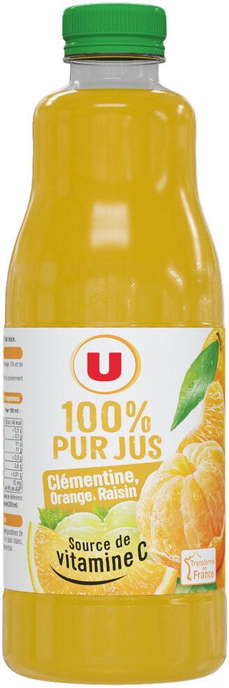 Pur jus clémentine orange raisin - Product
