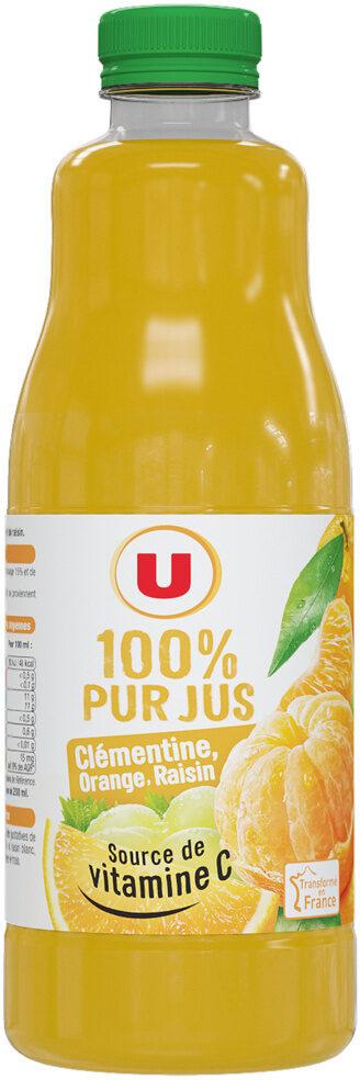 Pur jus clémentine orange raisin - Product - fr