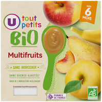 Pots dessert multifruits 6mois - Product