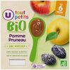 Pots pour bébé dessert pomme et pruneau sans morceaux U_TOUT_PETITS Bio - Product
