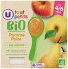 Pots dessert pomme poire U_TOUT_PETITS Bio - Produit