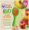 Pots dessert aux fruits du soleil U_TOUT_PETITS Bio - Product