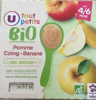 Compote pomme coing banane - Product