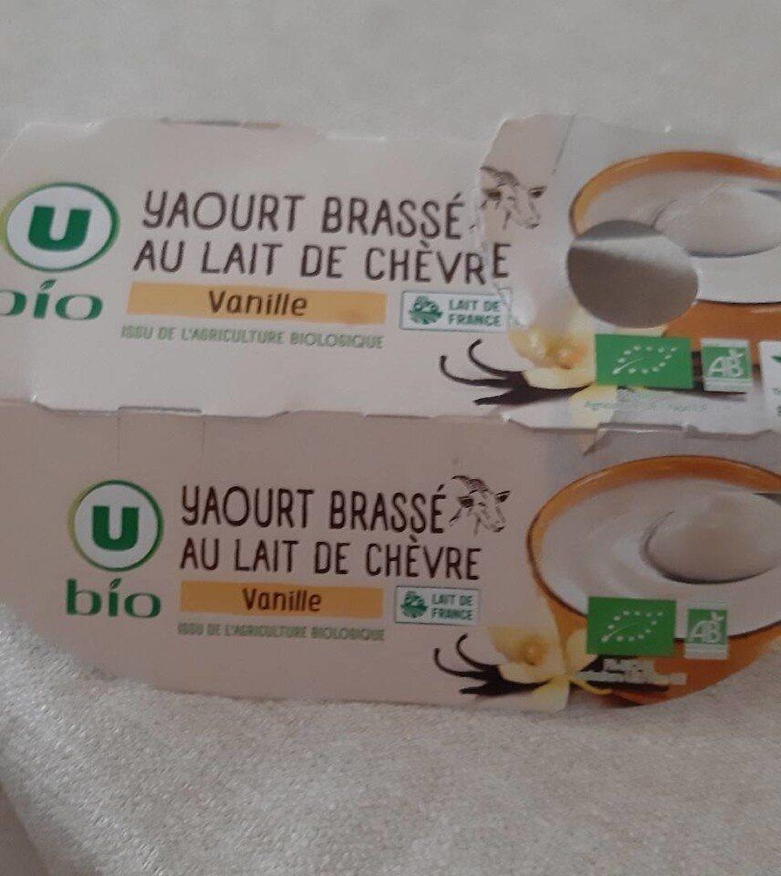 Yaourt brassé au lait de chévre - Produit