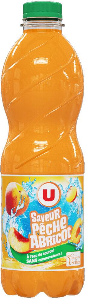 Boisson aux fruits plate pêche abricot - Product - fr
