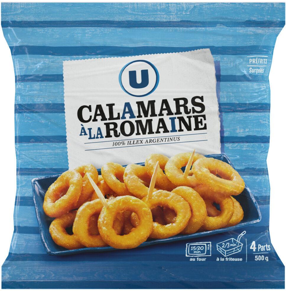 Calamars à la romaine - Produit