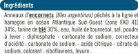 Calamars à la romaine - Ingrédients - fr