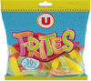 Gélifiés frites 30% de sucre en moins - Produit