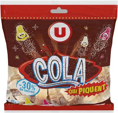 Assortiment cola qui piquent 30% de sucres en moins - Product - fr