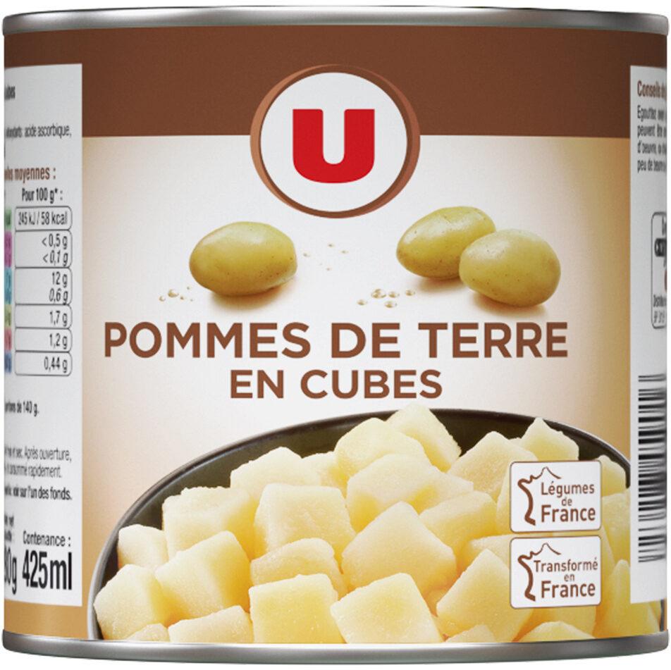 Pommes de terre en cubes - Produit - fr