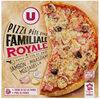 Pizza familiale royale cuite au feu de bois - Produit