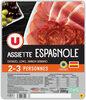 Assiette espagnole jambon serrano, lomo, chorizo - Product