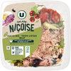 Salade niçoise duo de riz thon oeuf sauce vinaigre balsamique - Product