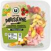 Salade parisienne conchiglie emmental jambon supérieur sauce vinaigrette - Product