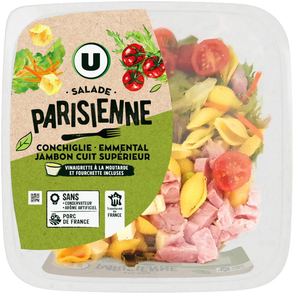 Salade parisienne conchiglie emmental jambon supérieur sauce vinaigrette - Produit - fr