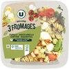 Salade 3 fromages fusili mozzarella chevre emmental sauce miel et auxdeux moutardes - Produit