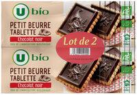 Petit beurre chocolat noir tablette - Product - fr