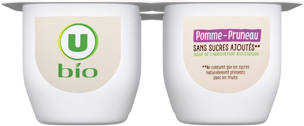 Purée pomme pruneau sans sucre ajoutés - Produit - fr