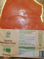 Saumon Atlantique fumé - Product