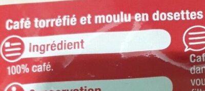 Café moulu - Ingrédients - fr