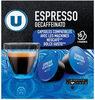 Café espresso décaféïné type dolce gusto - Produit