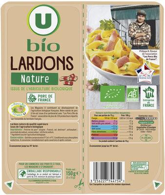Lardons nature VPF - Produit - fr