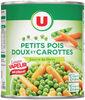 Petits pois doux très fin et carottes vapeur - Produit