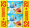 Compote pommes/pomme&poire/pomme&banane - Product