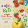 Gourdes pomme/banane/fraise - Product