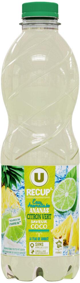 U recup' eau aromatisée ananas citron vert coco - Product - fr