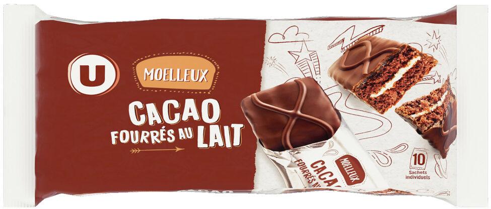 Moelleux Cacao fourrés au lait - Product
