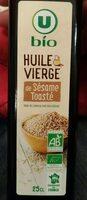 Huile sésame toastée - Produit - fr