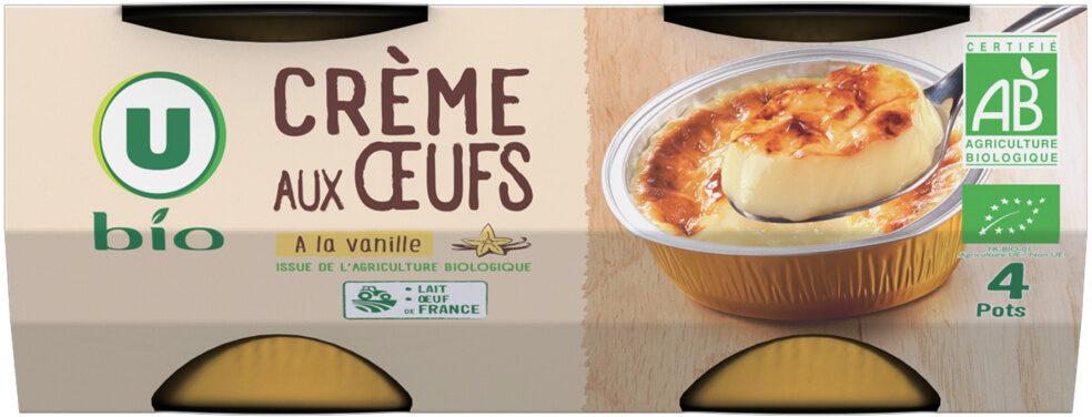 Crème aux oeufs vanille - Produit - fr