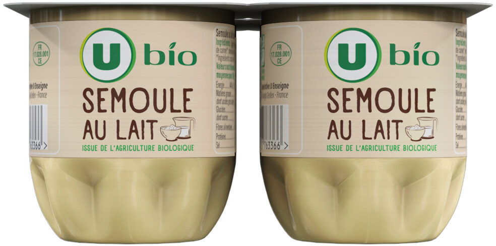 Semoule au lait - Produit - fr