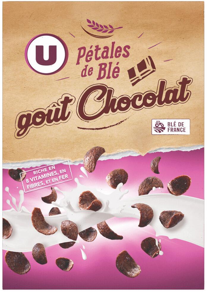 Céréales pétales blé goût choco. - Product - fr