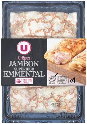 Crêpes de froment jambon emmental - Produit