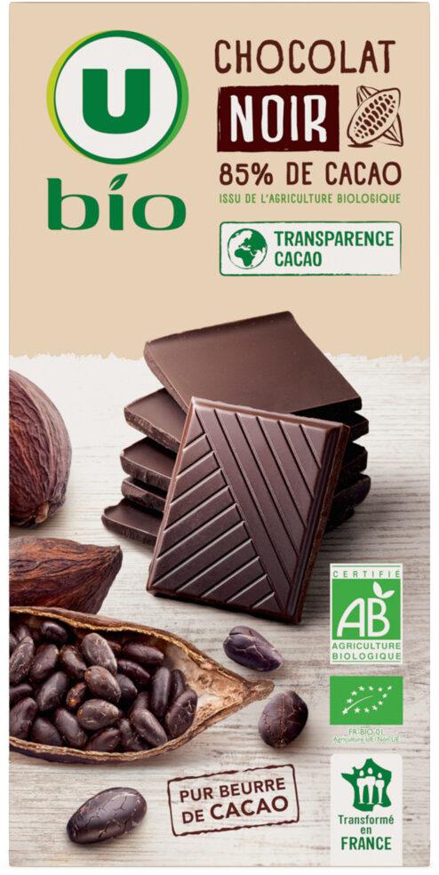 Chocolat noir 85% - Product - fr
