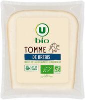 Tomme de brebis lait pasteurisé 36%mg - Prodotto - fr